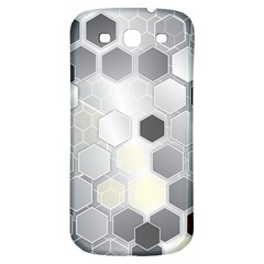 Honeycomb Pattern Samsung Galaxy S3 S III Classic Hardshell Back Case