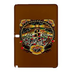 Tattoo Art Print Traditional Artwork Lighthouse Wave Samsung Galaxy Tab Pro 12.2 Hardshell Case