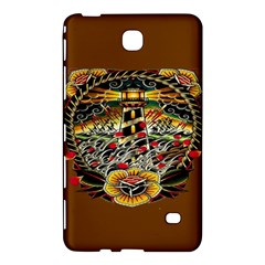 Tattoo Art Print Traditional Artwork Lighthouse Wave Samsung Galaxy Tab 4 (7 ) Hardshell Case