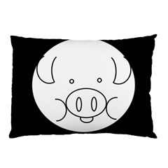 Pig Logo Pillow Case