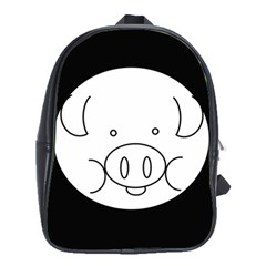 Pig Logo School Bags(Large)