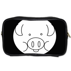 Pig Logo Toiletries Bags 2-Side