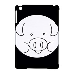 Pig Logo Apple iPad Mini Hardshell Case (Compatible with Smart Cover)