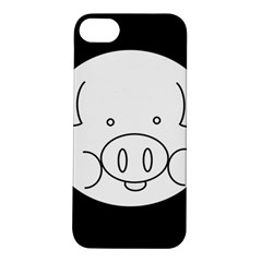 Pig Logo Apple iPhone 5S/ SE Hardshell Case