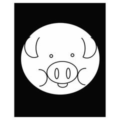 Pig Logo Drawstring Bag (Small)