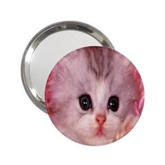 Cat Animal Kitten Pet 2.25  Handbag Mirrors