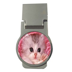Cat Animal Kitten Pet Money Clips (Round)