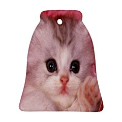 Cat Animal Kitten Pet Bell Ornament (Two Sides)