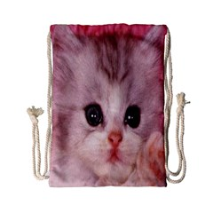 Cat Animal Kitten Pet Drawstring Bag (Small)