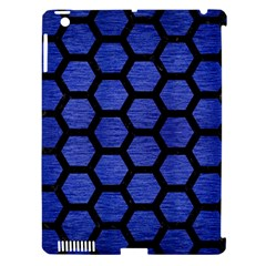 HXG2 BK-MRBL BL-BRSH (R) Apple iPad 3/4 Hardshell Case (Compatible with Smart Cover)