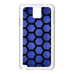 HXG2 BK-MRBL BL-BRSH (R) Samsung Galaxy Note 3 N9005 Case (White)