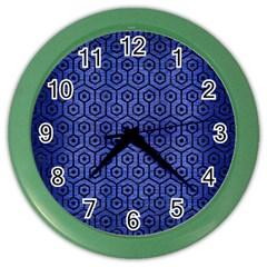 HXG1 BK-MRBL BL-BRSH (R) Color Wall Clocks