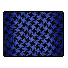 HTH2 BK-MRBL BL-BRSH Double Sided Fleece Blanket (Small)