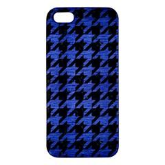 HTH1 BK-MRBL BL-BRSH Apple iPhone 5 Premium Hardshell Case