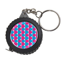 Pink And Bluedots Pattern Measuring Tapes