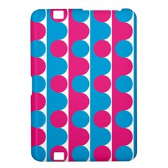Pink And Bluedots Pattern Kindle Fire HD 8.9