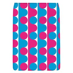 Pink And Bluedots Pattern Flap Covers (S)
