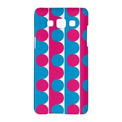 Pink And Bluedots Pattern Samsung Galaxy A5 Hardshell Case