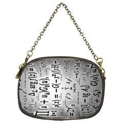 Science Formulas Chain Purses (One Side)