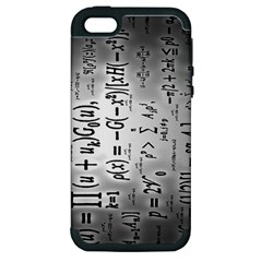 Science Formulas Apple iPhone 5 Hardshell Case (PC+Silicone)