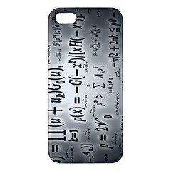 Science Formulas Apple iPhone 5 Premium Hardshell Case