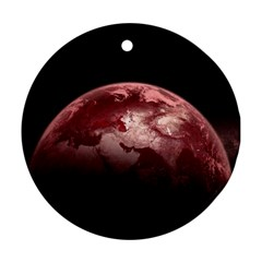 Planet Fantasy Art Ornament (Round)