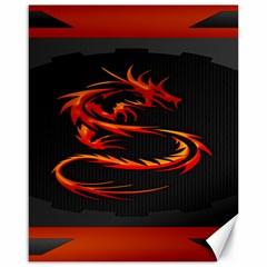 Dragon Canvas 16  x 20