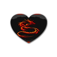 Dragon Heart Coaster (4 pack)