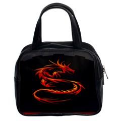 Dragon Classic Handbags (2 Sides)