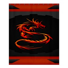 Dragon Shower Curtain 60  x 72  (Medium)
