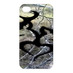 Black Love Browning Deer Camo Apple iPhone 4/4S Hardshell Case