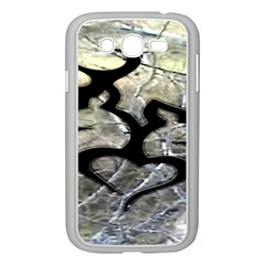 Black Love Browning Deer Camo Samsung Galaxy Grand DUOS I9082 Case (White)