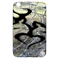 Black Love Browning Deer Camo Samsung Galaxy Tab 3 (8 ) T3100 Hardshell Case