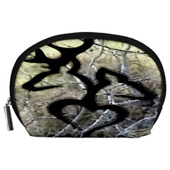 Black Love Browning Deer Camo Accessory Pouches (Large)