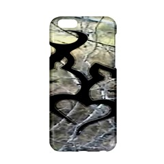 Black Love Browning Deer Camo Apple iPhone 6/6S Hardshell Case