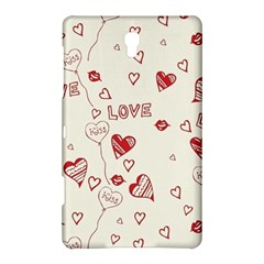 Pattern Hearts Kiss Love Lips Art Vector Samsung Galaxy Tab S (8.4 ) Hardshell Case