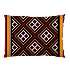 Toraja Pattern Pa re po  Sanguba ( Dancing Alone ) Pillow Case