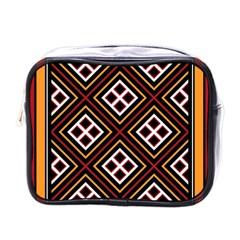Toraja Pattern Pa re po  Sanguba ( Dancing Alone ) Mini Toiletries Bags