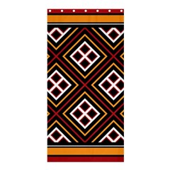 Toraja Pattern Pa re po  Sanguba ( Dancing Alone ) Shower Curtain 36  x 72  (Stall)