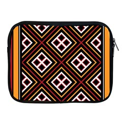 Toraja Pattern Pa re po  Sanguba ( Dancing Alone ) Apple iPad 2/3/4 Zipper Cases