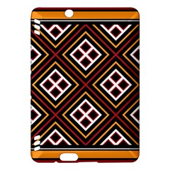 Toraja Pattern Pa re po  Sanguba ( Dancing Alone ) Kindle Fire HDX Hardshell Case