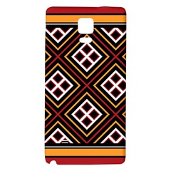 Toraja Pattern Pa re po  Sanguba ( Dancing Alone ) Galaxy Note 4 Back Case