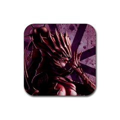 Fantasy Art Legend Of The Five Rings Fantasy Girls Rubber Square Coaster (4 pack)