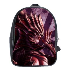 Fantasy Art Legend Of The Five Rings Fantasy Girls School Bags(Large)