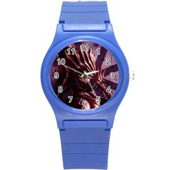 Fantasy Art Legend Of The Five Rings Fantasy Girls Round Plastic Sport Watch (S)