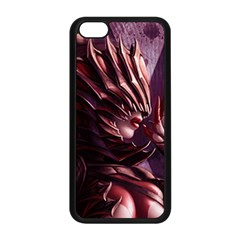 Fantasy Art Legend Of The Five Rings Fantasy Girls Apple iPhone 5C Seamless Case (Black)