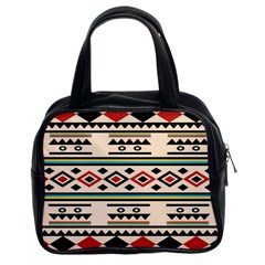 Tribal Pattern Classic Handbags (2 Sides)