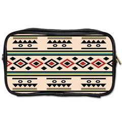 Tribal Pattern Toiletries Bags