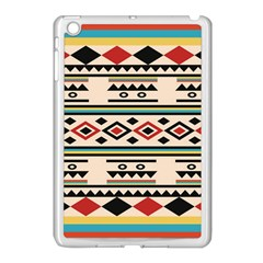 Tribal Pattern Apple iPad Mini Case (White)