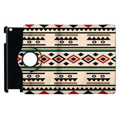 Tribal Pattern Apple iPad 2 Flip 360 Case